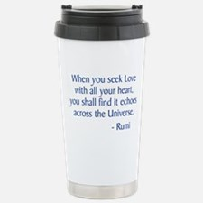 Seek Love Travel Mug