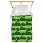 Crocodile Alligator Jungle Twin Duvet
