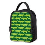 Crocodile Alligator Jungle Neoprene Lunch Bag