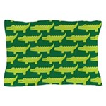 Crocodile Alligator Jungle Pillow Case