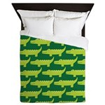 Crocodile Alligator Jungle Queen Duvet