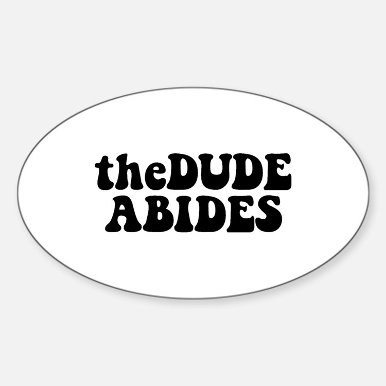 The Dude Abides Decal