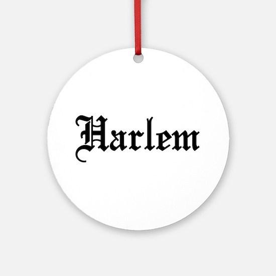 Harlem Ornament (Round)