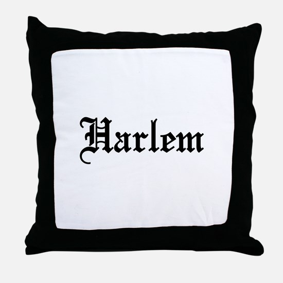Harlem Throw Pillow