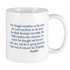 Thought Manifests Mugs