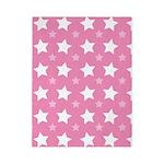 Pink Star Pattern Twin Duvet