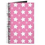 Pink Star Pattern Journal