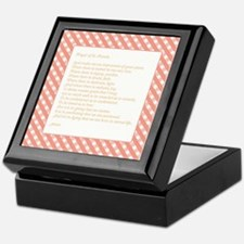 Cool Faith hope and love Keepsake Box