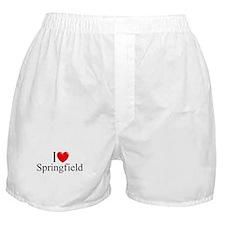 """""""I Love Springfield"""" Boxer Shorts"""