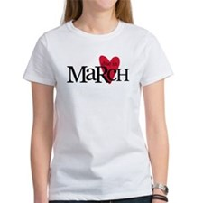 due in march red T-Shirt