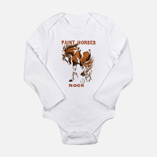Paint Horses Rock Infant Bodysuit Body Suit