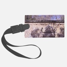 Alhambra, Charles V Fountain, 16 Luggage Tag