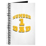 Number One Dad Journal