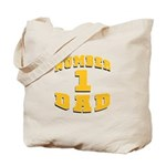 Number One Dad Tote Bag