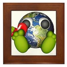 Love The Earth Framed Tile