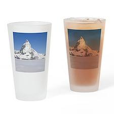 Switzerland. Matterhorn and Gornerg Drinking Glass