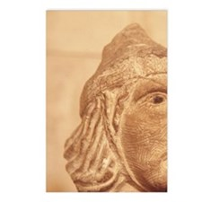 Carved head, Montfort Cas Postcards (Package of 8)