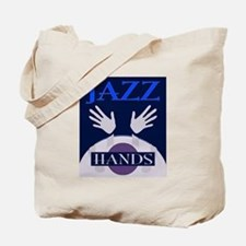 Jazz Hands Tote Bag