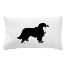 Tri Color Bernese Dog Pillow Case