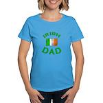 Father's Day Irish Dad Women's Dark T-Shirt