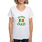 Father's Day Irish Dad Women's V-Neck T-Shirt