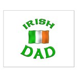 Father's Day Irish Dad Small Poster