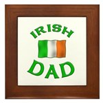 Father's Day Irish Dad Framed Tile