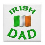 Father's Day Irish Dad Tile Coaster