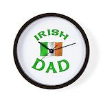 Father's Day Irish Dad Wall Clock