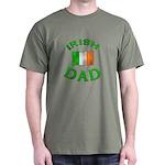 Father's Day Irish Dad Dark T-Shirt