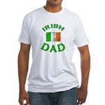 Father's Day Irish Dad Fitted T-Shirt