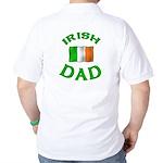 Father's Day Irish Dad Golf Shirt