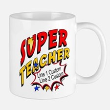 Teacher Super Hero Small Small Mug