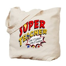 Teacher Super Hero Tote Bag