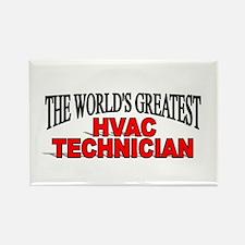 """The World's Greatest HVAC Technician"" Rectangle M"
