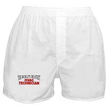 """The World's Greatest HVAC Technician"" Boxer Short"