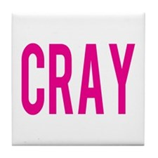 Cute Cray Tile Coaster