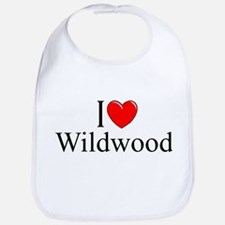 """I Love Wildwood"" Bib"