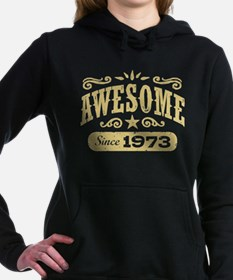 Awesome Since 1973 Women's Hooded Sweatshirt