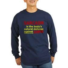 SARCASM - The Body's Defense! Long Sleeve T-Shirt