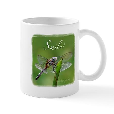 """Smile!"" Dragonfly-- Mug"