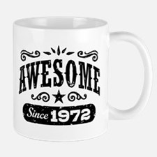 Awesome Since 1972 Small Small Mug