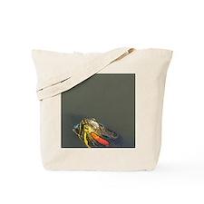 Red-eared pond slider, Chrysemys scripta  Tote Bag