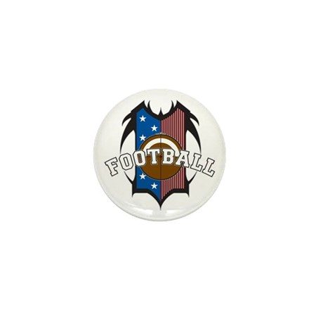 Tribal Football Mini Button (10 pack) by megasportsfan