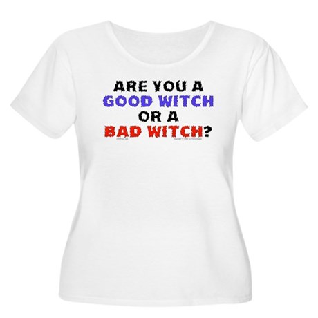 Good Witch or Bad Witch? Women's Plus Size Scoop N