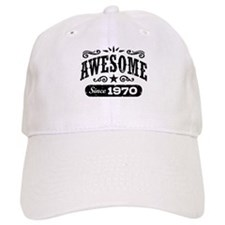 Awesome Since 1970 Baseball Cap