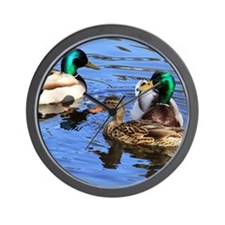 Mallards Wall Clock