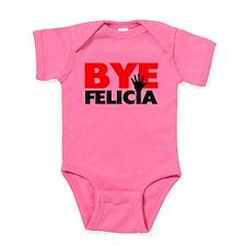 Bye Felicia Hand Wave Baby Bodysuit
