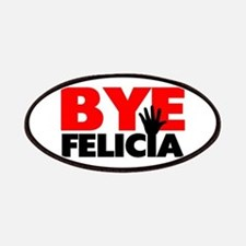 Bye Felicia Hand Wave Patches