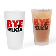 Bye Felicia Hand Wave Drinking Glass